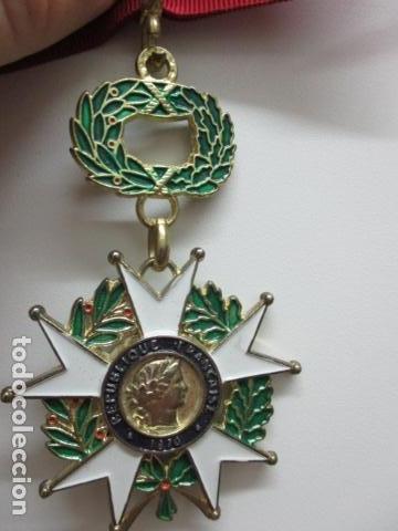 Militaria: MEDALLA FRANCESA - REPUBLIQUE FRANCAISE 1870 - HONNEUR ET PAT RIE - Foto 4 - 64632171