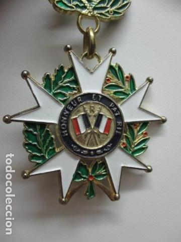 Militaria: MEDALLA FRANCESA - REPUBLIQUE FRANCAISE 1870 - HONNEUR ET PAT RIE - Foto 6 - 64632171