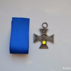 Militaria: WWII GERMAN CROSS LONG SERVICE AWARDS OF THE POLICE. Lote 176028788