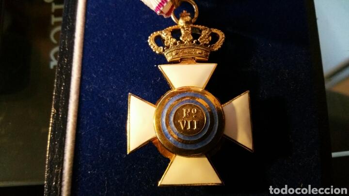 Militaria: Encomienda de la Orden de San Hermenegildo oro de ley con marcajes peso sin cinta 34 gramos - Foto 4 - 65019137