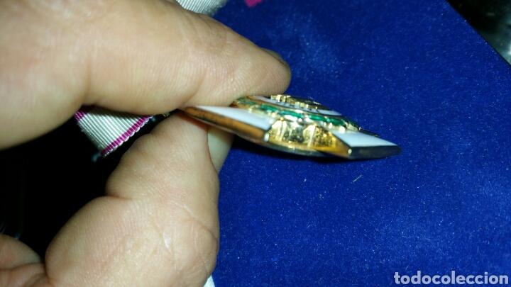 Militaria: Encomienda de la Orden de San Hermenegildo oro de ley con marcajes peso sin cinta 34 gramos - Foto 7 - 65019137