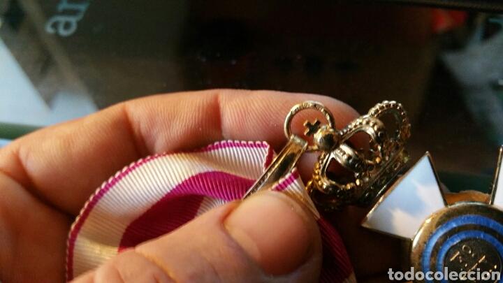 Militaria: Encomienda de la Orden de San Hermenegildo oro de ley con marcajes peso sin cinta 34 gramos - Foto 9 - 65019137