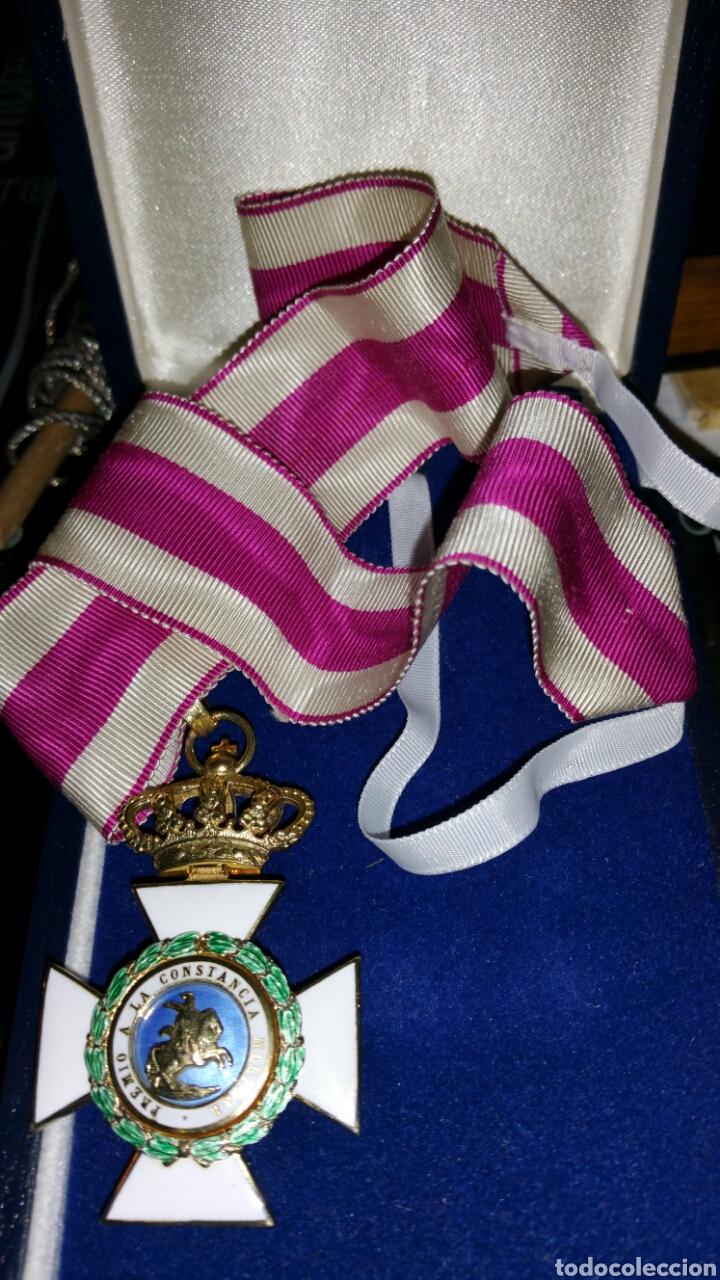 Militaria: Encomienda de la Orden de San Hermenegildo oro de ley con marcajes peso sin cinta 34 gramos - Foto 11 - 65019137