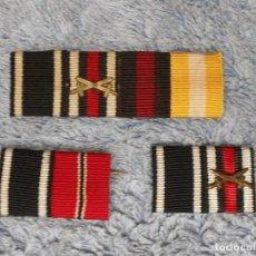 Militaria: LOTE DE 3 PASADORES ALEMANES ORIGINALES Y RESTAURADOS. GRAN GUERRA Y PERÍODO DE ENTREGUERRA. Lote 66355242