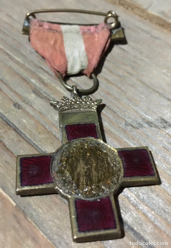 MEDALLA MÉRITO MILITAR ROJA. TAMAÑO PRINCESA (Militar - Medallas Españolas Originales )