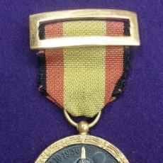 Militaria: CONDECORACION ORIGINAL 17 JULIO 1936. UNA GRANDE LIBRE IMPERIAL-ARRIBA ESPAÑA. MEDALLA. CINTA NEGRA. Lote 66961302