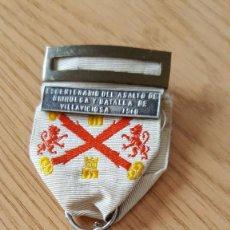 Militaria: CENTENARIO DE BRIHUEGA Y Y VILLAVICIOSA PLATA. Lote 139192926