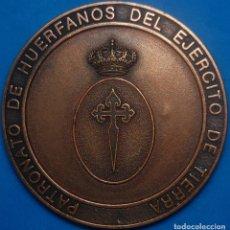 Militaria: MEDALLA MILITAR DE COBRE HUERFANOS DEL EJERCITO DE TIERRA. Lote 67701105