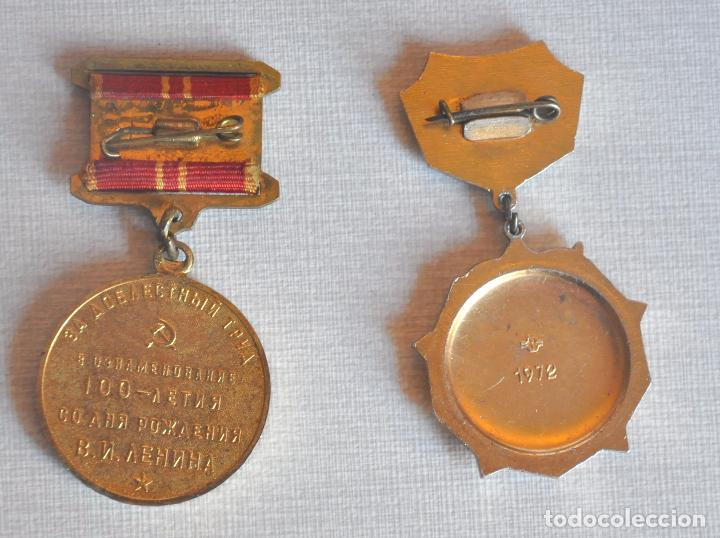 Militaria: Lote sovietico Baran.Dos.medallas .Papel -vida labolar.URSS - Foto 7 - 68542465