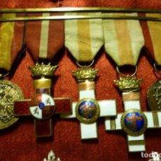Militaria: PASADOR DE GALA. MEDALLAS GUERRA CIVIL. FRANCO. FALANGE. Lote 144871100