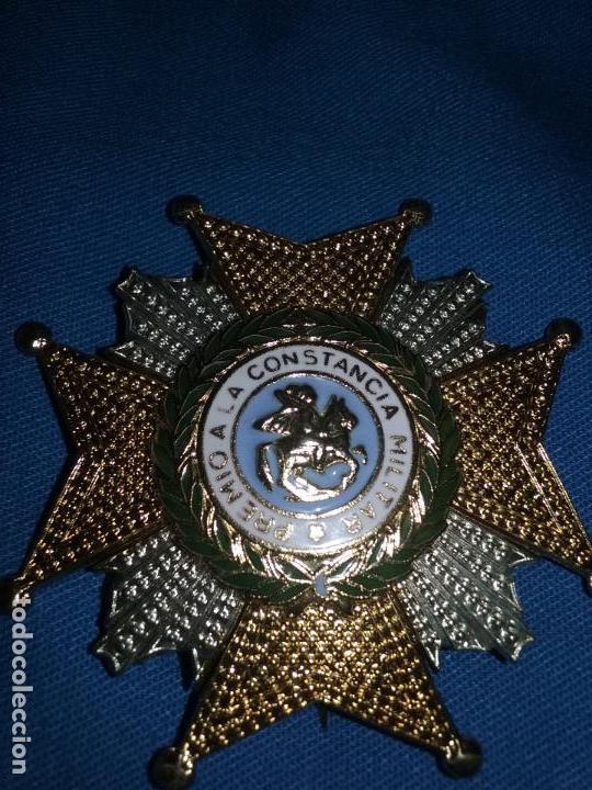 PLACA DE LA REAL Y MILITAR ORDEN DE SAN HERMENEGILDO (Militar - Medallas Españolas Originales )