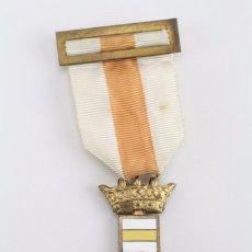 Militaria: CRUZ ESMALTADA CON CINTA - CONSTANCIA MILITAR. SUBOFICIAL, AÑO 1986 - PENSIONADA / BARRAS DORADAS. Lote 69367905
