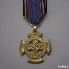 Militaria: MEDALLA LUFTSCHUTZ 1 CLASE (2 G.M-ALEMANIA), BUEN ESTADO.+ SU CINTA DE ORIGEN. Lote 69472265