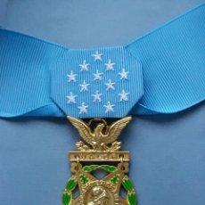 Militaria: US MEDAL OF HONOR ARMY - EJERCITO DE TIERRA CON CINTA DE CUELLO - MOH - REPLICA. Lote 70105365