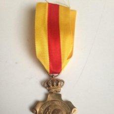 Militaria: MEDALLA HOMENAJE AYUNTAMIENTOS A ALFONSO XIII. 1925. ESPAÑA. Lote 70310581