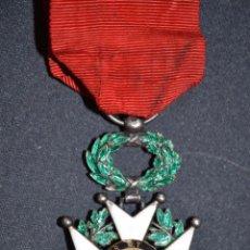 Militaria: ORIGINAL ANTIGUA MEDALLA LEGION DE HONOR FRANCIA 1870 1 GUERRA 14 18 CABALLERO PLATA. Lote 70546201