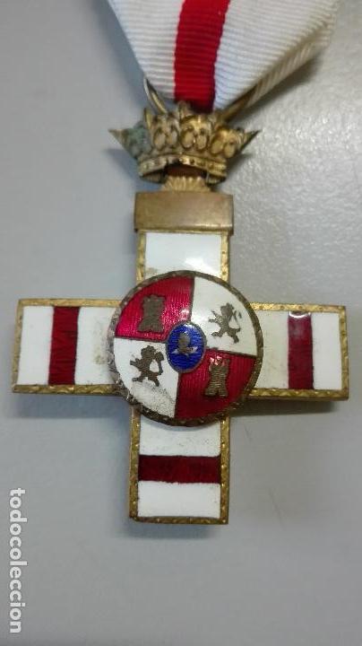 Militaria: Medalla Mérito Militar pensionada. Bifacial. Época de Franco - Foto 2 - 71045953