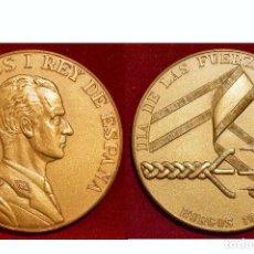Militaria: MEDALLA DÍA DE LAS FUERZAS ARMADAS 1983 BURGOS ESTUCHE ORIGINAL EXCELENTE ESTADO. Lote 50660760