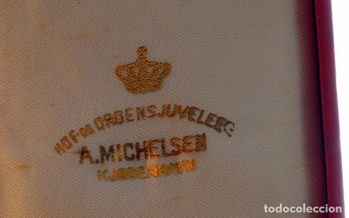 Militaria: CRUZ de la Orden de la Cruz de Dinamarca. Dannebrog Orden Dannebrog Ordenen - Foto 3 - 71630439