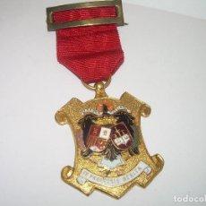 Militaria: ANTIGUA MEDALLA ESMALTADA....PERFECTISIMO ESTADO DE CONSERVACION.. Lote 71666719