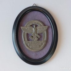 Militaria: PREMIO ORIGINAL DE COMBATE PARA EL PLANEADOR RHÖN. SEGUNDA GUERRA MUNDIAL 1939 NS-FLIEGERKAORPS. Lote 71802635