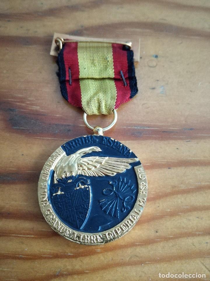 MEDALLA GUERRA CIVIL, 17 JULIO 1936.ARRIBA ESPAÑA. (Militar - Medallas Españolas Originales )