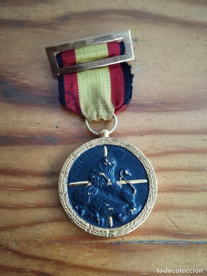 Militaria: MEDALLA GUERRA CIVIL, 17 JULIO 1936.ARRIBA ESPAÑA. - Foto 2 - 72184567