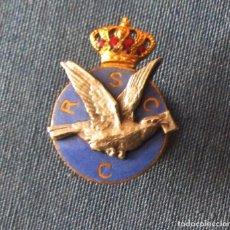 Militaria: MUY RARO COLOMBOFILIA ALFONSOXIII. Lote 72432131