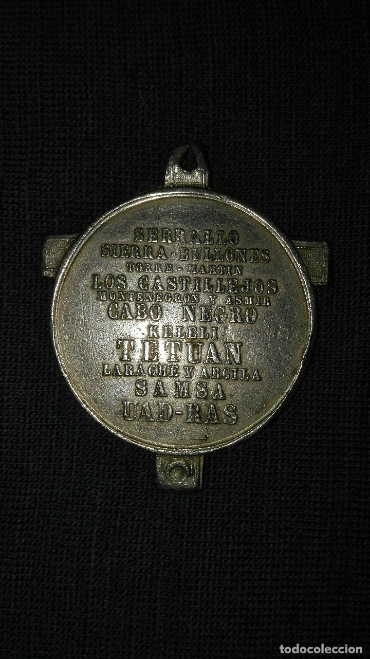 Militaria: Medalla de la Guerra de Africa. 1860. - Foto 2 - 72639439