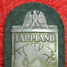 Militaria: PARCHE LAPPLAND. SHIELD LAPPLAND. MEDIDAS: 80 X 50 MM. FAB. Lote 140783958