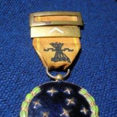 Militaria: MEDALLA FALANGISTA DE LA VIEJA GUARDIA DE PRIMERA LINEA. AÑO 1933. EXPEDIENTE 859. FALANGE.. Lote 73707251