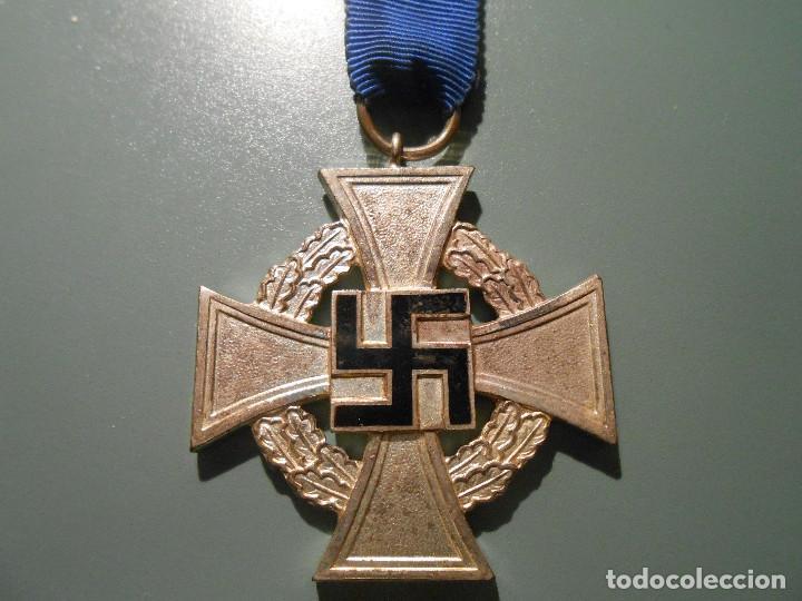 MEDALLA 25 AÑOS DE SERVICIO ALEMANIA (Militar - Medallas Extranjeras Originales)