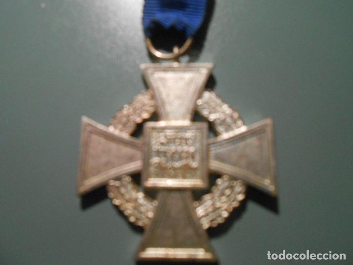 Militaria: MEDALLA 25 AÑOS DE SERVICIO ALEMANIA - Foto 2 - 74224935