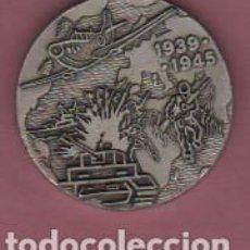 Militaria: MEDALLA FRANCE FRANCIA - GUERRA 1939 1945 FIRMADA DECAT PARIS. Lote 74316911