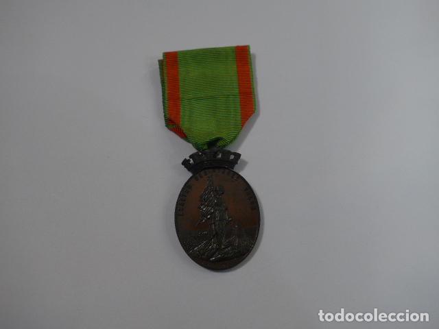 * ANTIGUA MEDALLA DE LA CARRACA, 1873, ORIGINAL. ZX (Militar - Medallas Españolas Originales )