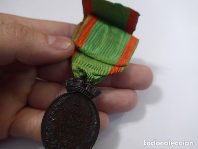 Militaria: * Antigua medalla de la carraca, 1873, original. ZX - Foto 8 - 75491531