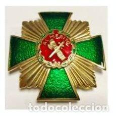 Militaria: PLACA DE LA GUARDIA CIVIL CON DISTINTIVO ROJO. Lote 98034475