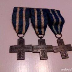 Militaria: WWII. ITALIA. PASADOR MEDALLA MERITO DE GUERRA. Lote 75835655