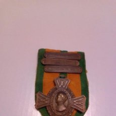 Militaria: WWII. HOLANDA. CRUZ DE GUERRA.1945. CON 3 PASADORES. Lote 75836607