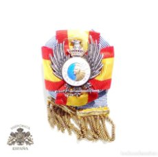 Militaria: LAZO DISTINTIVO DE PROFESORADO. ENSEÑANZA MILITAR. ESTADO MAYOR. ÉPOCA DE FRANCO. Lote 76717703
