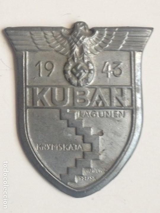 PLACA BATALLA DE KUBAN, RUSIA. ALEMANIA. 2ª GUERRA MUNDIAL. 1943. RÉPLICA (Militar - Reproducciones y Réplicas de Medallas )