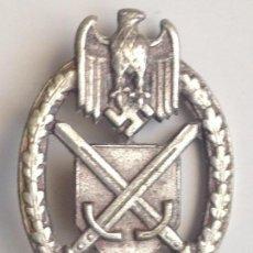 Militaria: PLACA TANQUISTA. ALEMANIA. 2ª GUERRA MUNDIAL. 1939-1945. RÉPLICA . Lote 77475549
