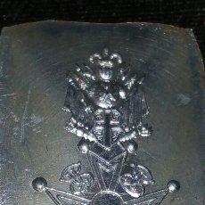 Militaria: MEDALLA TAMAÑO PRINCESA SIN RECORTAR ORDEN MILITAR Y HOSPITALARIA DE SAN LÁZARO DE JERUSALEM. Lote 77981526