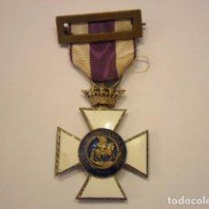 Militaria - Cruz Caballero Orden San Hermenegildo-modelo 1939-1952(corona Imperial)+ cinta y pasador originales - 78110393