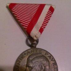 Militaria: WWII. CROACIA. MEDALLA ANTE PAVELIC AL VALOR. Lote 79182305