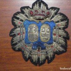 Militaria: PLACA DE JUEZ O MAGISTRADO BORDADA EN HILO DE PLATA. EPOCA ALFONSO XIII. . Lote 79562325