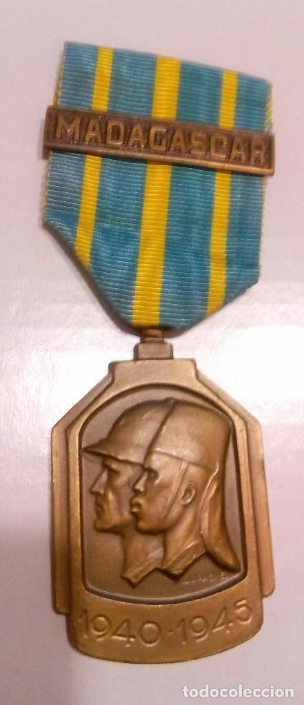 WWII. BELGICA. CAMPAÑA SERVICIO EN AFRICA 1939-45 (Militar - Medallas Internacionales Originales)