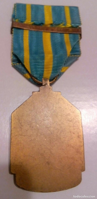 Militaria: WWII. BELGICA. CAMPAÑA SERVICIO EN AFRICA 1939-45 - Foto 2 - 79580645