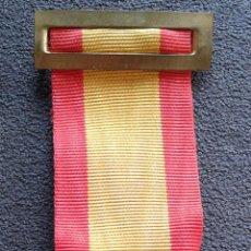 Militaria: CINTA ORIGINAL COLORES NACIONALES, BANDERA DE ESPAÑA. Lote 98593236