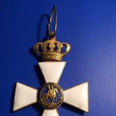 Militaria: MEDALLA ALFONSINA PREMIO CONSTANCIA MILITAR UNICA EN ESTADO Y VENTA ACTUAL. Lote 80175237